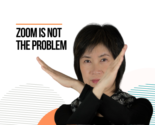 Zoom is not the Problem